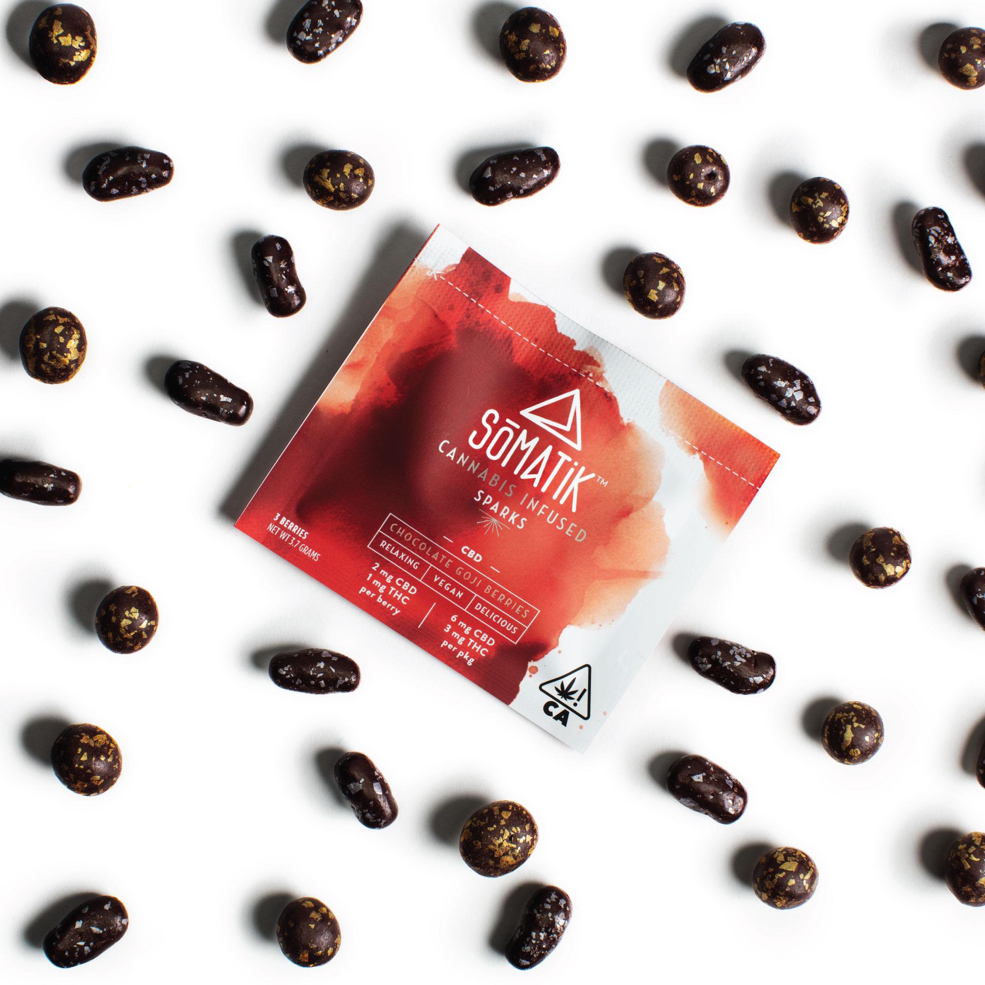 Mini Sparks: CBD Goji Berries| cannabisstores