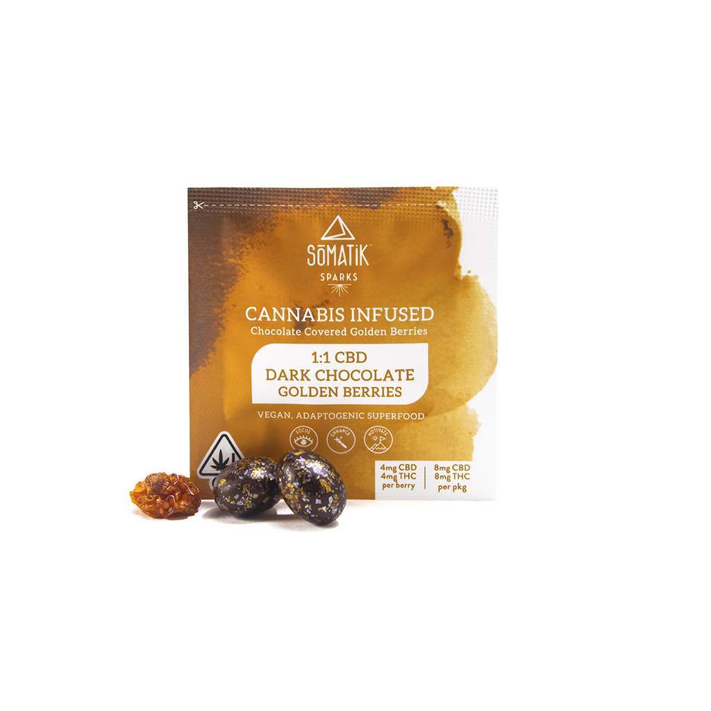 1:1 CBD Golden Berry Sparks| cannabisstores