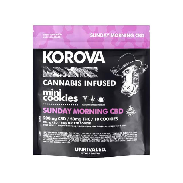 2:1 SUNDAY MORNING CBD COOKIES| cannabisstores