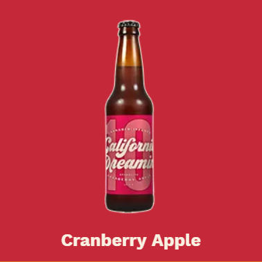 Cranberry Apple Soda| cannabisstores
