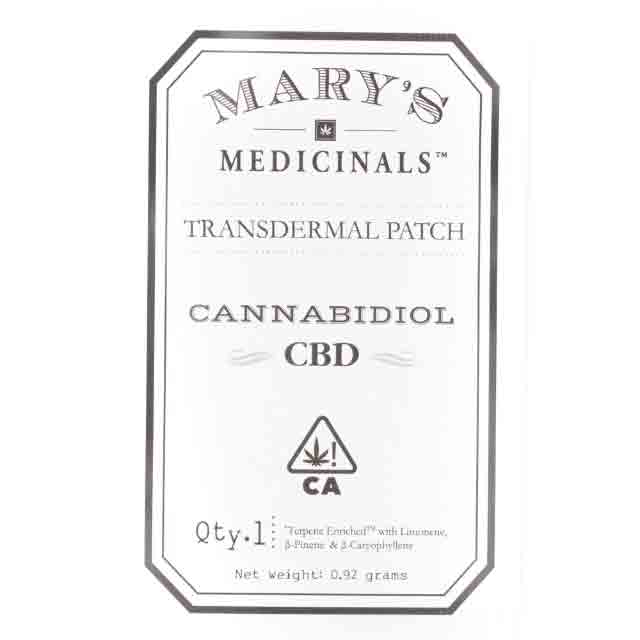 MARY'S MEDICINALS CBD:THC PATCH| cannabisstores