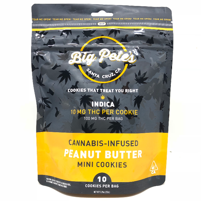 INDICA PEANUT BUTTER COOKIES 10PK| cannabisstores
