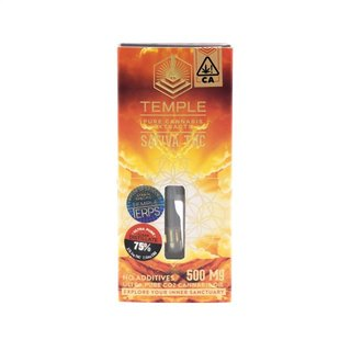 Black Lime Sour Diesel Distillate Cartridge (.5g) - Temple| cannabisstores