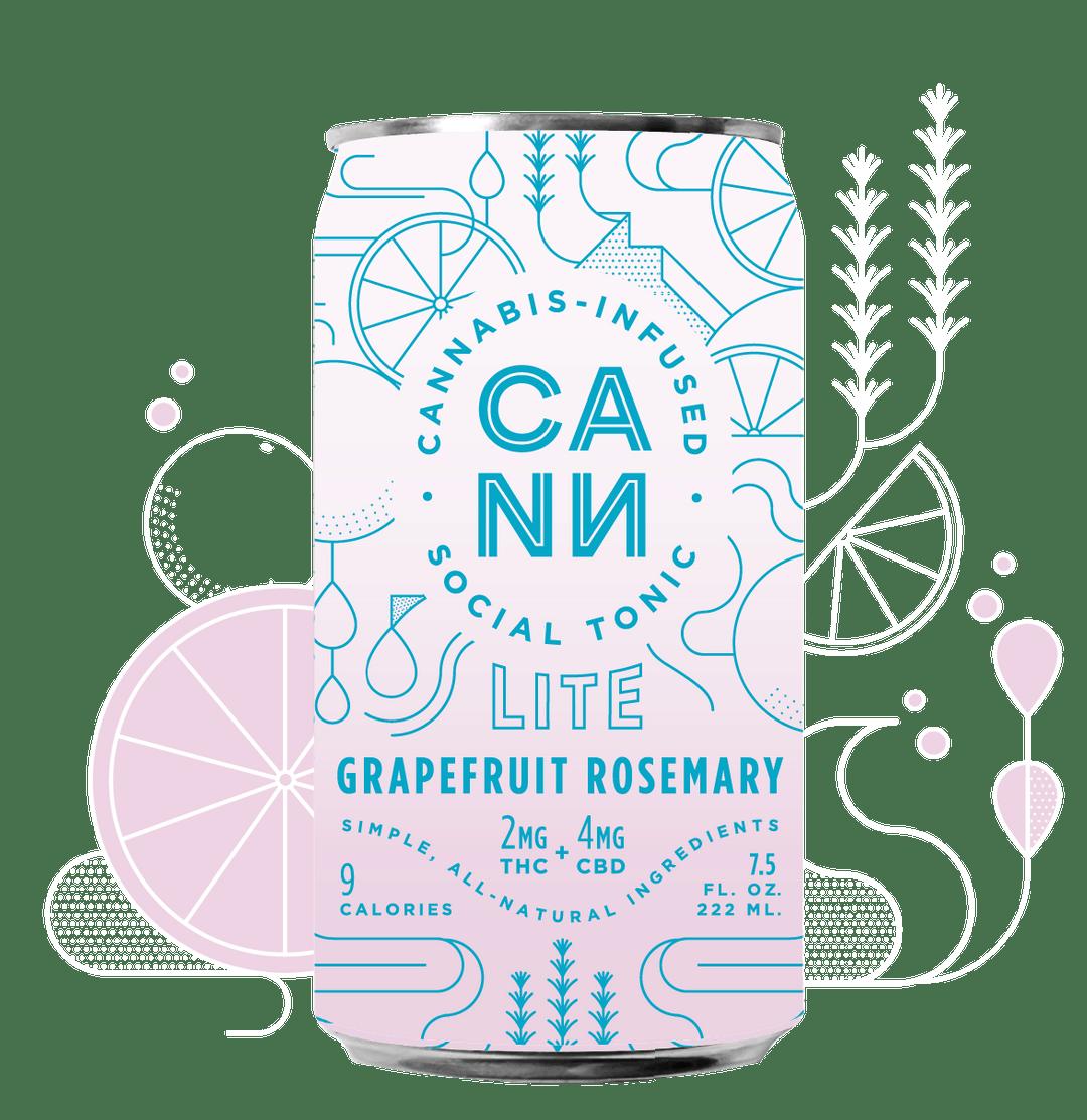 Grapefruit Rosemary Lite| cannabisstores