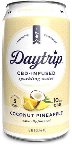 Coconut Pineapple Sparkling Water| cannabisstores