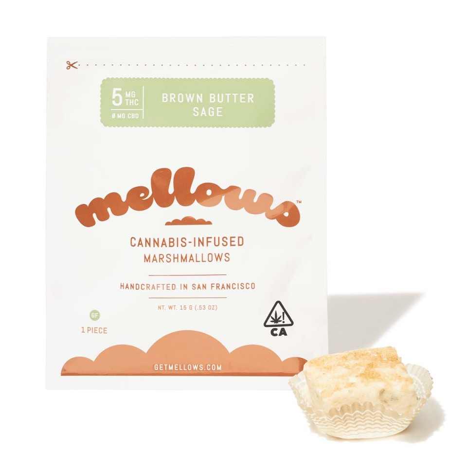 Brown Butter Sage Marshmallow - 5mg (Single)| cannabisstores