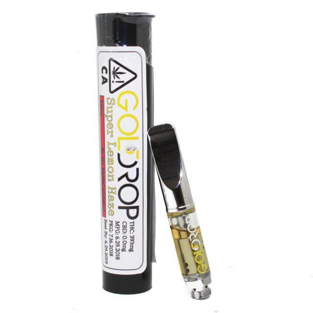 Black Standard Cartridge 0.5G *GD - Gold Drop| cannabisstores
