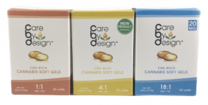 Care by Design Capsules 5ct. (1:1, 2:1, 4:1, 8:1, 18:1)