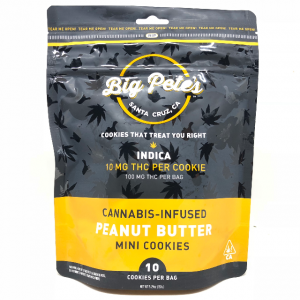 INDICA PEANUT BUTTER COOKIES 10PK