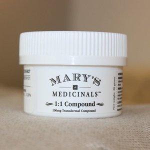 Marys CBD/THC 1:1 Compound - Marys Medicinal