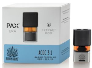 Bloom Farms 3:1 CBD/THC Pax Era Pods