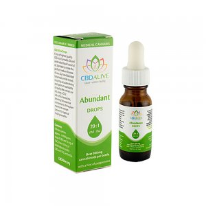 Abundant 20:1 CBD:THC [15ml] (300mg+)